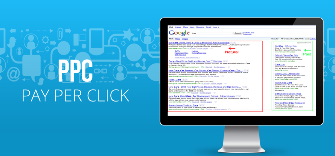 pay per click management services company india